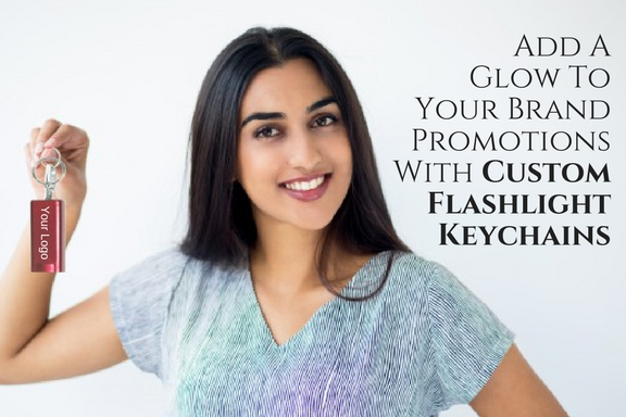Add A Glow To Your Brand Promotions With Custom Flashlight Keychains