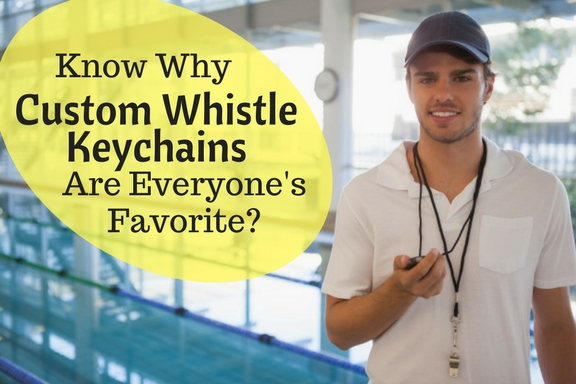 Whistle Your Brand Logo with Custom Whistle Keychains
