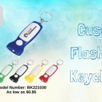 Flashlight Keychains Will Keep Your Brand Well Displayed Even At Dark