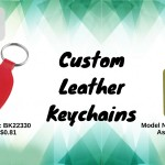 Branded Leather Keychains- The Synonyms of Style And Substance