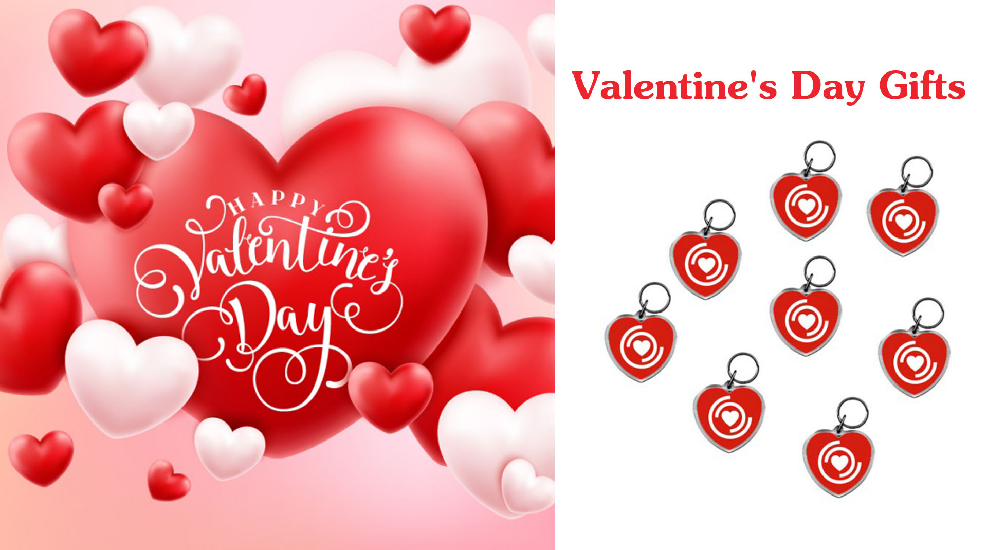Valentine S Day Message Say It With Heart Shaped Keychains