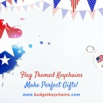 Flag Themed Keychains Make Perfect Gifts For July 4th Celebrations