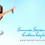 Summer Season Themed Custom Keychains For Outdoor Promotions