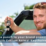 Pack A Punch To Your Brand Promotions With Custom Animal Keychains
