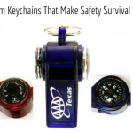 Whistle With Compass Thermometer Keychains- Custom Keychains That Make Safety Survival Items