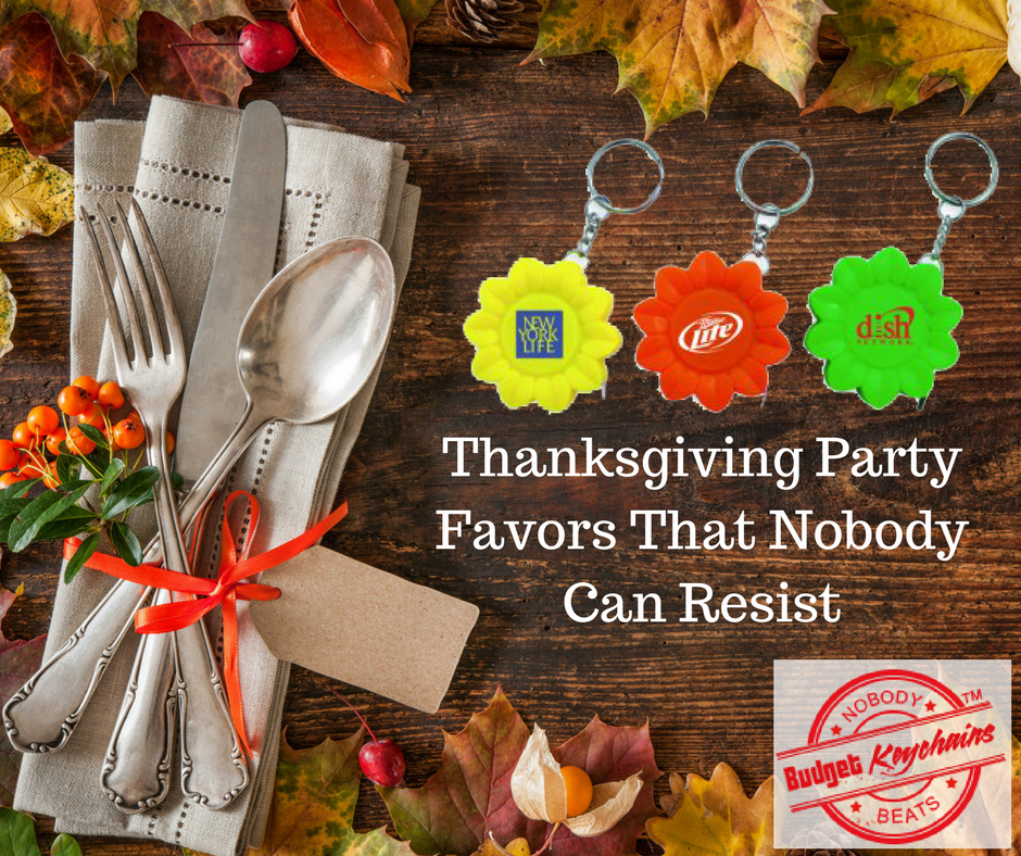 Thanksgiving Party Favors That Nobody Can Resist
