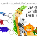 December 4th Is World Wildlife Conservation Day- Shop For Animal Themed Custom Gifts