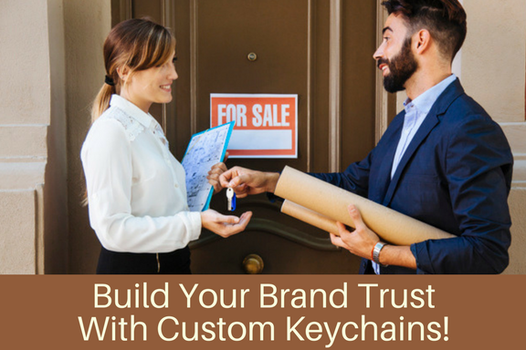Build Your Brand Trust With Custom Keychains!