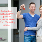 Customized Keychains Drive Up Brand Exposure- Make It Your Marketing Swag