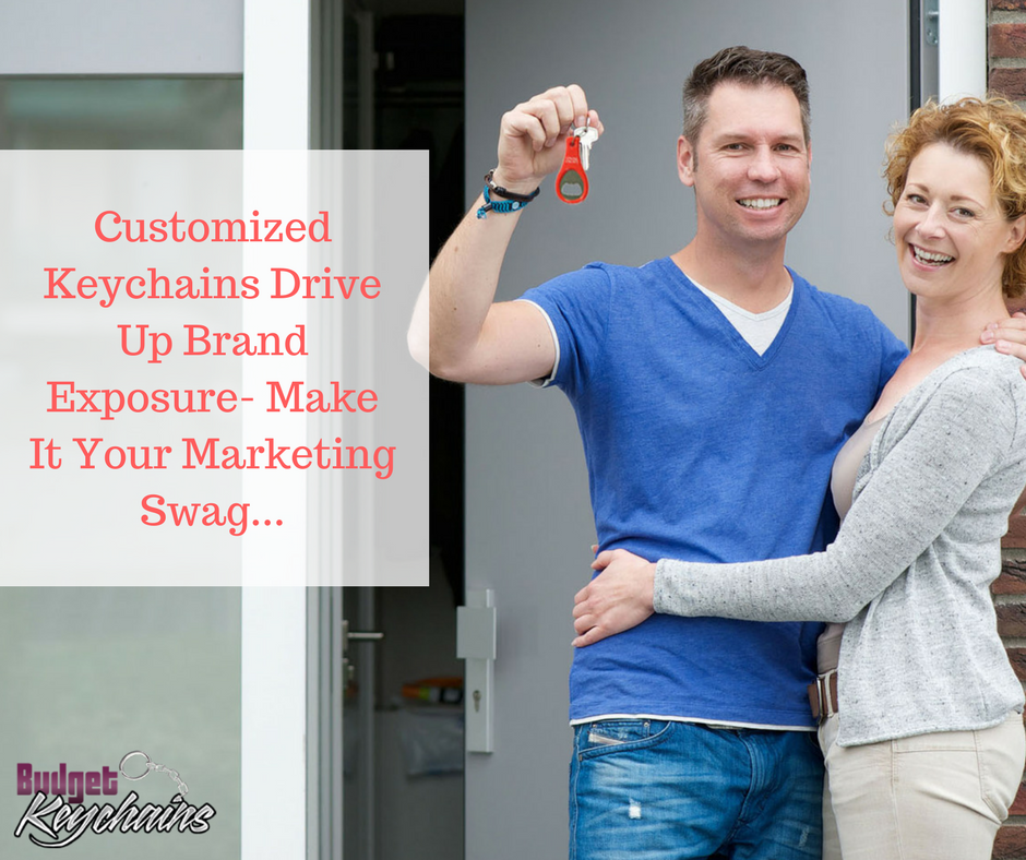 Customized Keychains Drive Up Brand Exposure- Make It Your Marketing Swag...