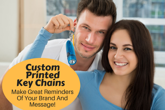 Custom Printed Key Chains -