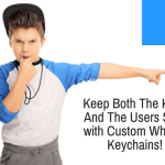 Custom Whistle Keychains- Keep Both The Keys And The Users Safe