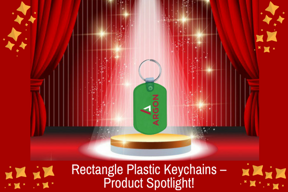 Rectangle Plastic Keychains – Product Spotlight