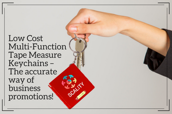 Low Cost Multi-Function Tape Measure Keychains – The accurate way of business promotions