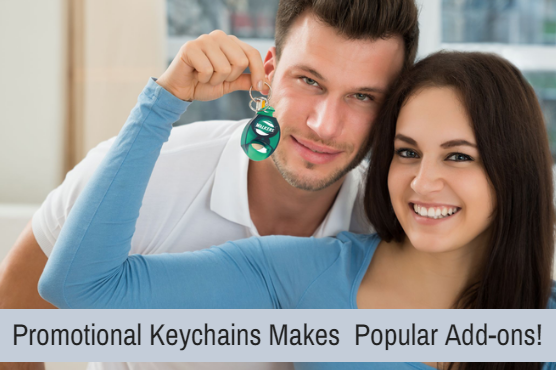 Promotional Keychains- Custom Gifts That You Can Put Your Stakes On
