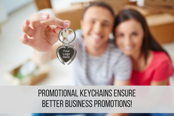 How Promotional Keychains Ensure Better Business Promotions