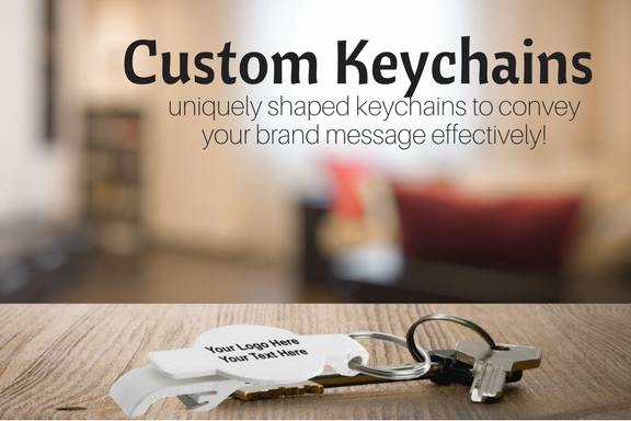 uniquely shaped keychains to convey your brand message effectively!