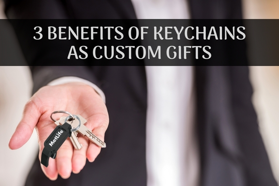3 benefits of keychains as custom gifts