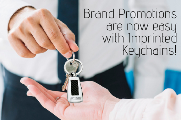 Brand Promotions are now easy with Imprinted Keychains!