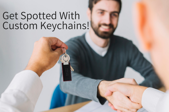 Get Spotted With Custom Keychains!