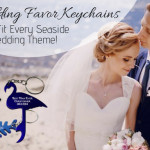 Wedding Favor Keychains That Fit Every Seaside Wedding Theme