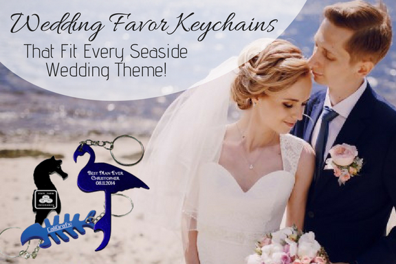 Wedding Favor Keychains