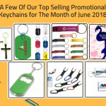 A Few Of Our Top Selling Promotional Keychains for The Month of June 2018