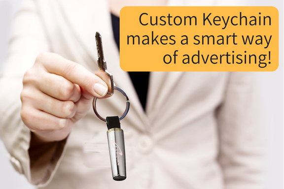Custom Keychain makes a smart way of advertising