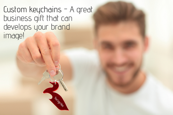 Custom keychains - A great business gift that can develops your brand image