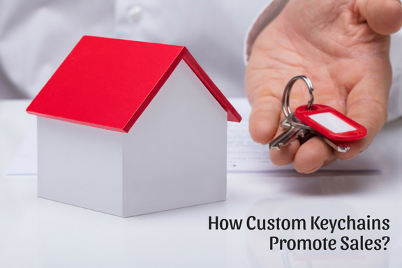 How Custom Keychains Promote Sales_
