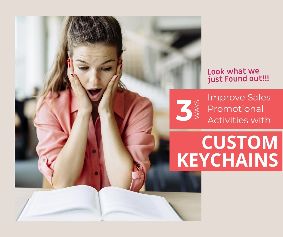 3 ways for a perfect custom keychains promotions