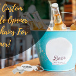 Custom Bottle Opener Keychains- The Coolest Summer Promotional Items On Cards!