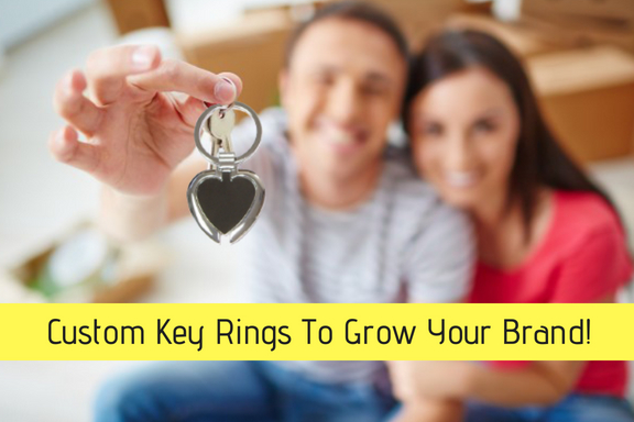 Custom Key Rings To Grow Your Brand